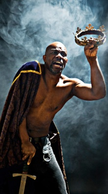 John Douglas Thompson stars as Richard III at Shakespeare & Company  in Lenox.