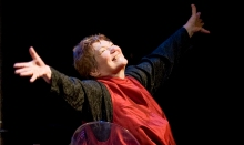 Tina Packer explores the wondrous world of Shakespeare. Performance photos by Kevin Sprague.