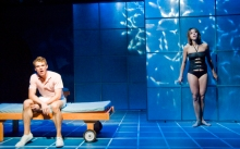 Jay Armstrong Johnson and Cortney Wolfson in Pool Boy, Photo Kevin Sprague.