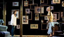 Leslie Kritzer and Catherine Cox in The Memory Show. Photo by Kevin Sprague.