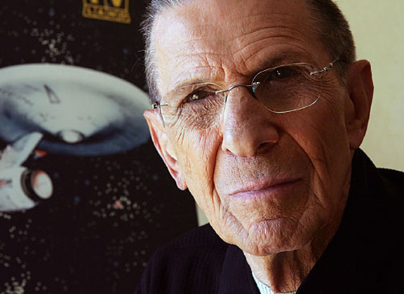 Leonard Nimoy Photo by Frazer Harrison