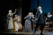 The Crucible is both a gripping play and a slice of history about the Salem Witch trials. Theatre can be both uplifting and educational. Each fall Barrington Stage works with the Pittsfield schools on a well chosen play to illuminate America's history.