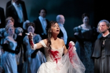 Natalie Dessay in the title role of Lucia.