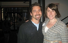 Jeff (l) and Laura Roudabush.