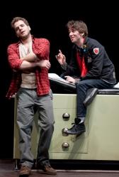 Kelsey Kurz (Joseph) and Dan McCabe (Charles). Photo by Paul Marotta.