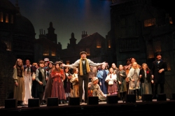 Daniel Garrity and the Cast of A Christmas Carol.