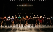 A new production of A Chorus LIne for 2012 at the Colonial Theatre.