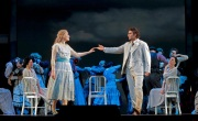 "Above: Marina Poplavskaya as Marguerite and Jonas Kaufmann as the title character in Gounod's ""Faust."" Photo: Ken Howard/Metropolitan Opera"