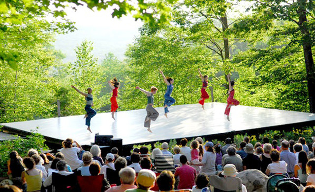 Jacob's Pillow is dance in a natural setting.