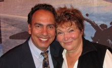 Tony Simotes (l) and Tina Packer (r)