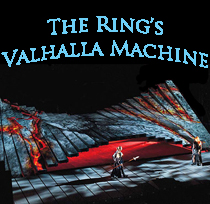 A Berkshire on Stage gallery of images showing the creation of The Valhalla Machine.