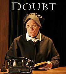 Peggy Pharr Wilson as Sister Aloysius Photo Credit: Arianne Stuerzel.