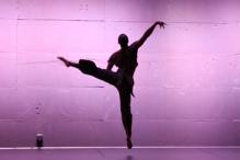 Kyle Abraham dances.  Photo by Steven Schreiber.