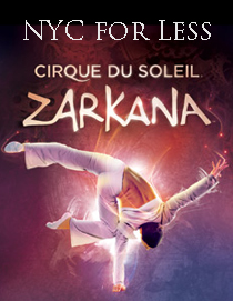 Zarkana From Cirque Du Soleil At Radio City Music Hall Save On