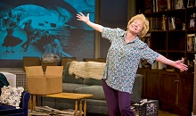 Debra Jo Rupp is so believable as Dr. Ruth Westheimer, that Dr. Ruth felt she was watching herself on stage. Kevin Sprague Photos.