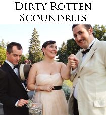 You have to keep your eyes open when these dirty, rotten scoundrels are around.