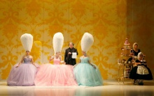 Marie Antoinette and her Court at the American Repertory Theatre in Cambridge,AM. Joan Marcus photo.