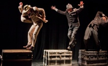 The 39 Steps at Shakespeare & Company. Photos: Kevin Sprague.