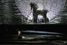"""A scene from the Metropolitan Opera's production of Berlioz's """"Les Troyens."""" Photo: Marty Sohl/Metropolitan Opera."""