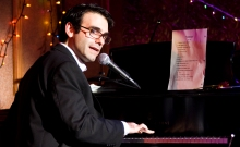 Joe Iconis at the keyboard. Photo by Monnica Simoes.