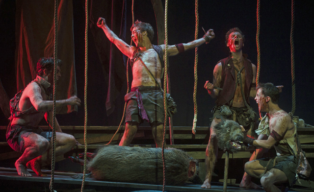 "beastly ""lord of the flies"" a triumph of theatricality at  lord"