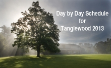 Tanglewood at Dawn, John Ferrilo photo.