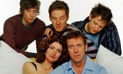 Fortysomething with Hugh Laurie, Anna Chancellor and Benedict Cumberbatch is now streaming on Acorn TV.