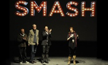 Theresa Rebeck (on right) talking about the first season of Smash.