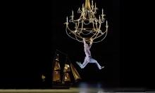 "A scene from Act 1 of Thomas Adès's ""The Tempest"" with acrobat Jaime Verazin as Ariel.  Photo: Ken Howard/Metropolitan Opera Taken at the Metropolitan Opera on October 15, 2012."
