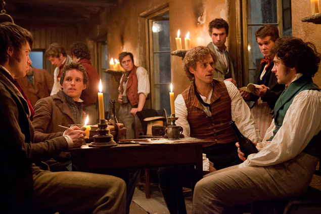 "The ""boys"" of the barricade provide a momentary distraction as they get killed off."