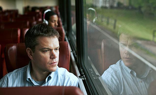 Matt Damon rides into town.