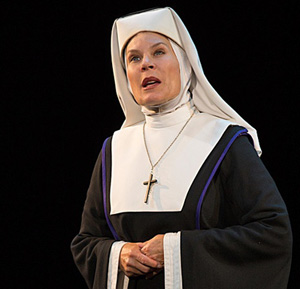 She might be stern on stage as Mother Superior in the national tour of Sister Act, but off stage, Hollis Resnik likes to burn the floor and has a mean backswing.