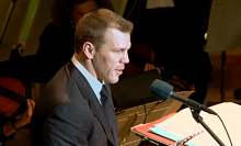 Shawn Thornton at the Boston Pops