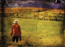Jim Briggs enlightens as Vincent van Gogh and his brother Theo, now through December 30, 2012.