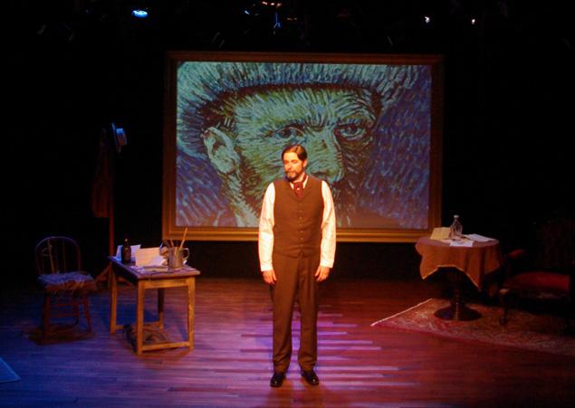 Jim Briggs has achieved a marvel in duplicating the look of Theo van Gogh.