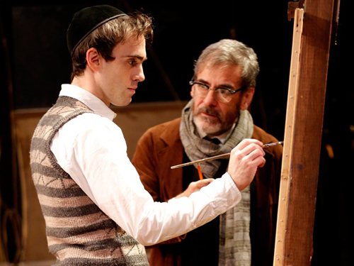 Ari Brand and Mark Nelson in 'My Name is Asher Lev.