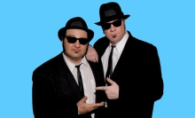 February 17 the Blues Brothers go from screen to stage as Wayne Catania and Kieron Lafferty become Jake and Elwood for an evening.