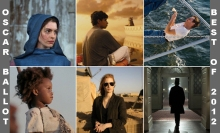 Academy Award Nominations - Best films of 2012.
