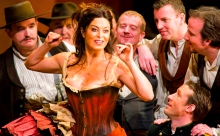 Anna Caterina Antonacci as Carmen.