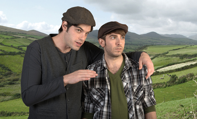 "Ireland is the scene where Daniel Berger-Jones and Phil Tayler relate their tale of ""Stones in His Pocket."""
