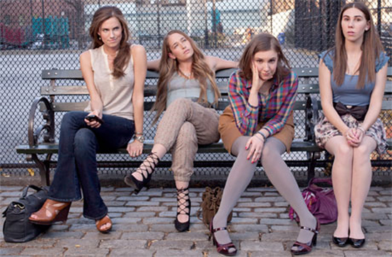 """Many mainstream critics didn't get """"Girls"""" but the LGBT critics found it very funny."""