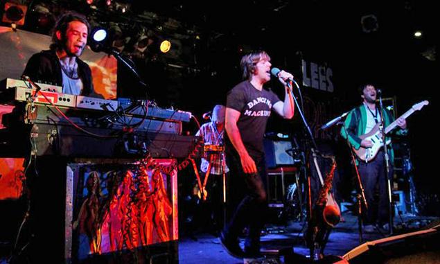 Superhuman Happiness brings their upbeat music to Mass MoCA Feb 2.