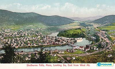 Along the Mohawk Trail, the welcoming community of Shelburne Falls has a lot in common with the Berkshires.  Its Memorial Hall hosts theatre, music, and showings of the Metropolitan Opera Live in HD.