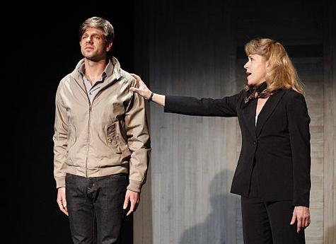 Dustin Charles and Elizabeth Aspenlieder. Photo by Scott Barrow.