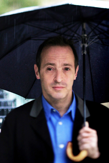 David Sedaris finds humor in everything, even the rain.
