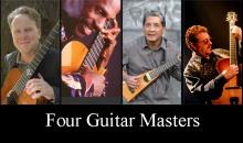 (l to r) Brian Gore, Celso Machado, Solorazaf, Martin Taylor.