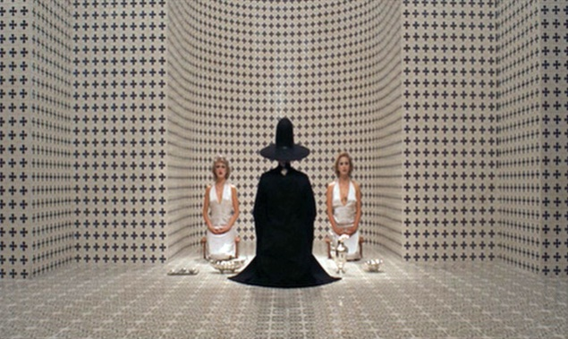Scene from Alejandro Jodorowsky's 1973 cult film, Holy Mountain.