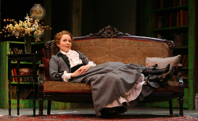 Kate Burton in The Corn is Green (2007) directed by Nicholas Martin. Photo by Ben Marcus.