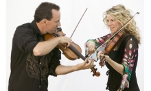 Natalie MacMaster and Donnell Leahy are Masters of the Fiddle.