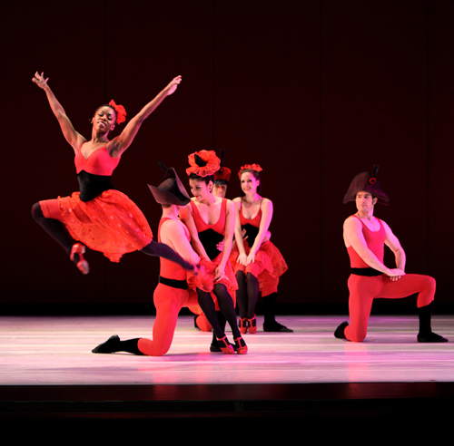 Offenbach Overtures will be danced by the Paul Taylor Company.
